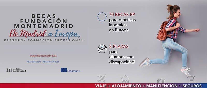 Becas Fundación MONTEMADRID verano 2019